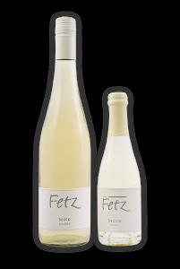 Fetz Secco als Schlegelflasche mit 750ml und als Single Flasche mit 375ml