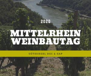 Mittelrhein-Weinbautag 2020 - Gütesiegel DGC & GAP