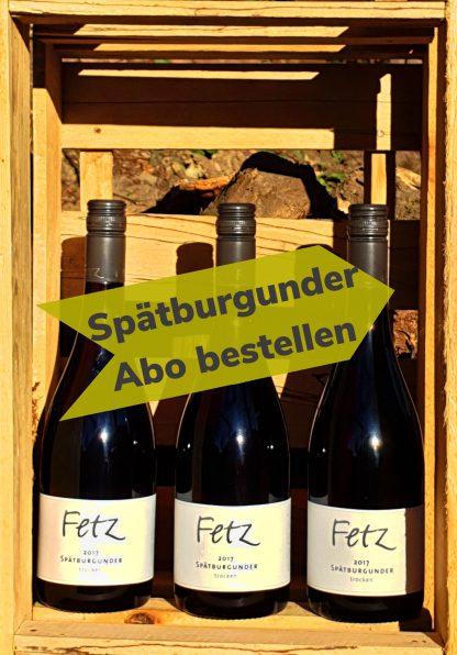 Wein Abo Spätburgunder 3 Flaschen