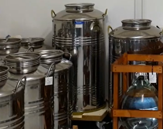 Destillate Reifelager
