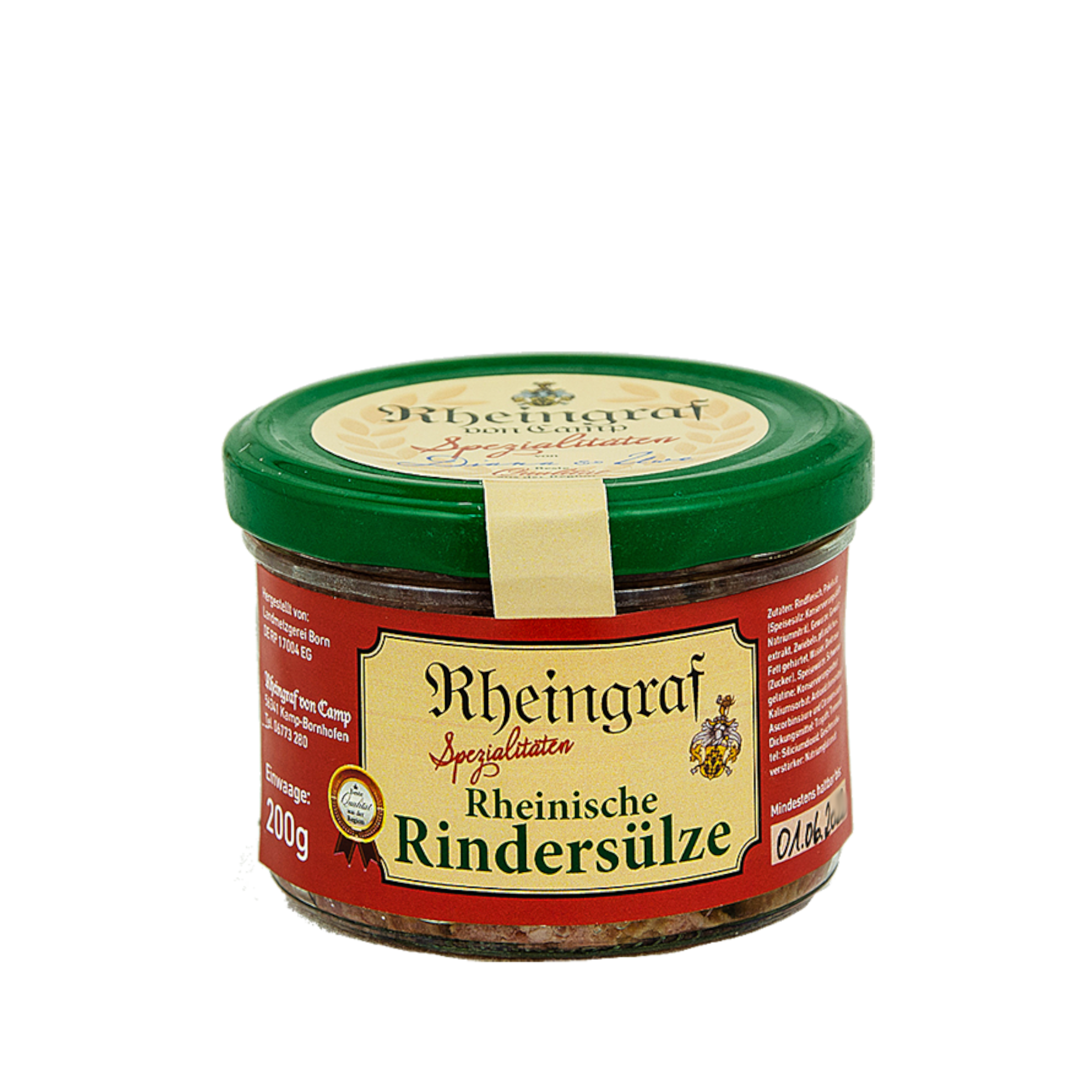 Rheinische Rindersülze im Glas
