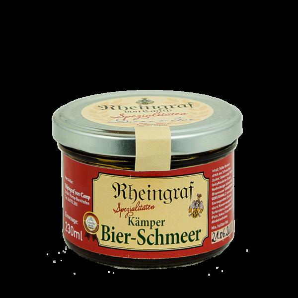 Rheinischer Bier-Schmeer im Glas